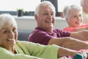 Seniors keeping fit and active